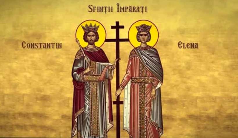Calendar ortodox 21 mai 2021. Sărbătoare de Sfinţii Constantin şi Elena