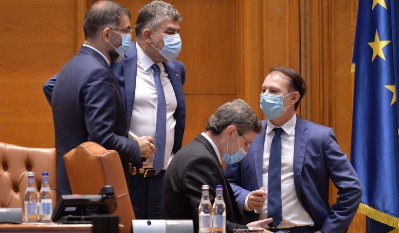 """Ciolacu a ajuns la guvern, pentru discuţii cu Cîţu despre PNRR: """"A fost respins de două ori şi este un plan care trebuie să schimbe viața românilor"""""""