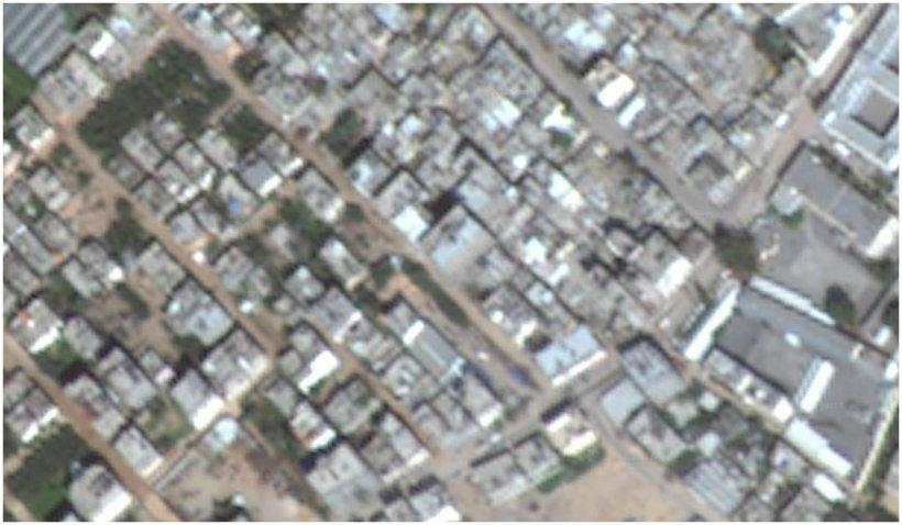 Imaginile din satelit din Israel şi Gaza sunt blurate pe Google