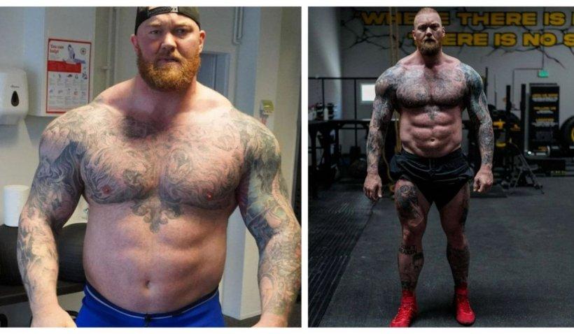 """""""Muntele"""" din Game of Thrones, schimbare de look. Actorul a slăbit 50 de kilograme"""