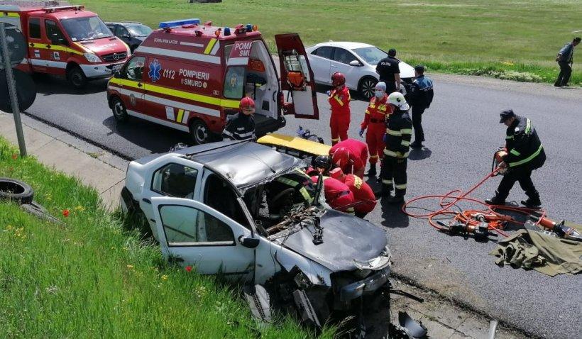 Un bărbat a murit în urma unui accident rutier produs pe DE 583 la Iaşi