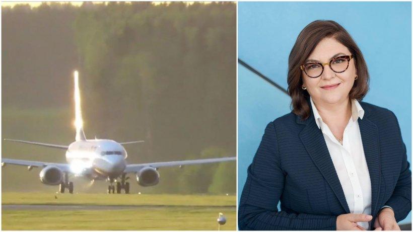 """Adina Vălean, despre avionul deturnat: """"Este un act criminal!"""""""