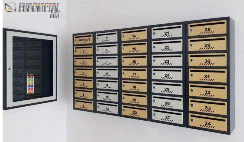 Compania Eurometal Box oferă clienților cutii poștale de calitate