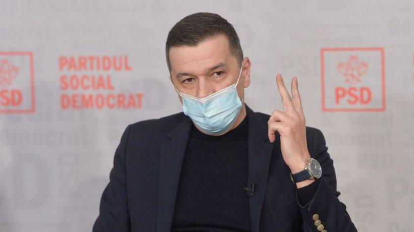 """Sorin Grindeanu: """"România primește doar 14 miliarde de euro de la UE pentru PNRR. Diferenţa, împrumut de tip FMI"""""""