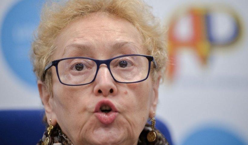 Renate Weber, pusă pe făraş de coaliţie. Lista scurtă pentru Avocatul Poporului