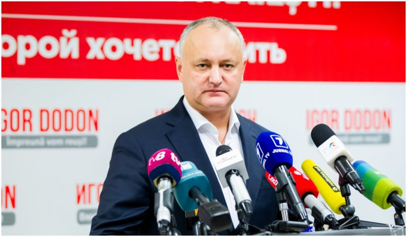 Dodon anunță că îl va expulza pe ambasadorul României şi alți diplomați occidentali dacă va câştiga alegerile din iulie