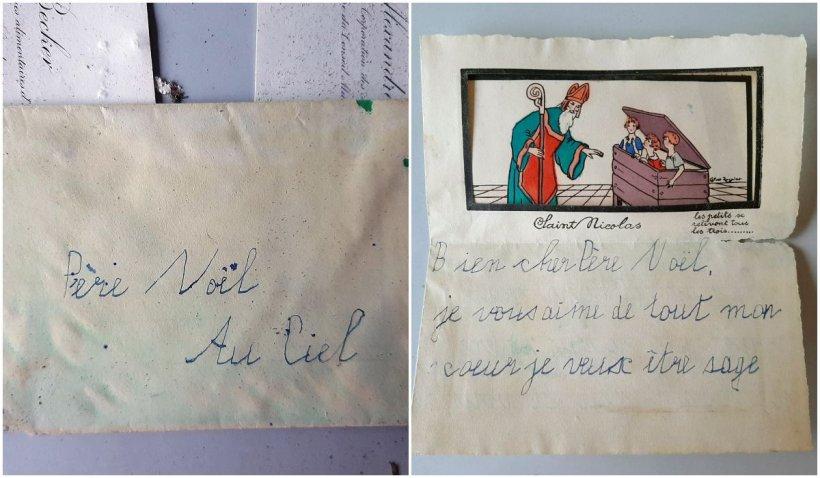 Scrisoare către Moș Crăciun din 1930, descoperită de arheologi
