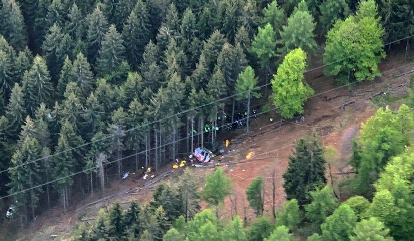 Trei persoane au fost arestate în urma accidentului teleferic din Italia