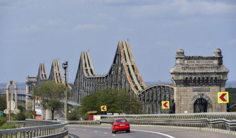 Circulație liberă către mare. Restricțiile de pe Podul de la Cernavodă au fost ridicate