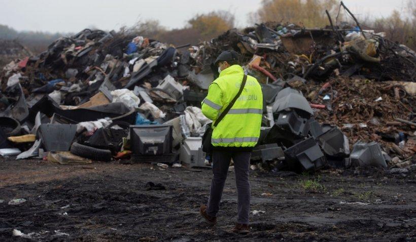 Șeful Gărzii de Mediu: Nu există zi în care să nu se forțeze introducerea în țară a deșeurilor