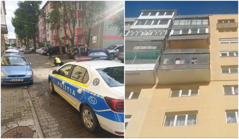 O fată de 15 ani a murit, după ce a căzut de pe un bloc cu 10 etaje, din Alba Iulia