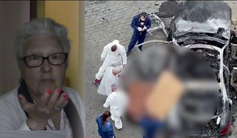 """Martor al exploziei de la Arad: """"Un om rănit încerca să iasă din mașină, de lângă șofer. În dreapta era un om, striga după ajutor"""""""