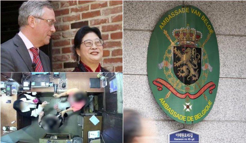 Ambasadorul belgian în Coreea de Sud își pierde postul după ce soția diplomatului a pălmuit o vânzătoare