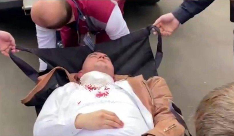 Un activist care organizase proteste anti-Lukașenko s-a înjunghiat în gât în sala de tribunal din Minsk