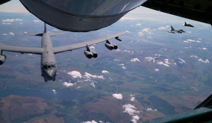 Avioanele NATO, demonstrație de forță pe cerul Europei înainte de întâlnirea Joe Biden - Vladimir Putin