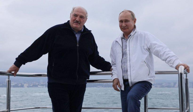 Putin, sprijin pentru Lukașenko după sancțiunile UE: o nouă tranșă dintr-un împrumut de miliarde de dolari a ajuns în Belarus