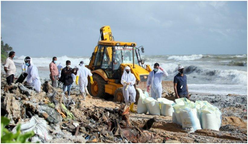 Sri Lanka se confruntă cu cel mai grav dezastru ecologic din istoria sa
