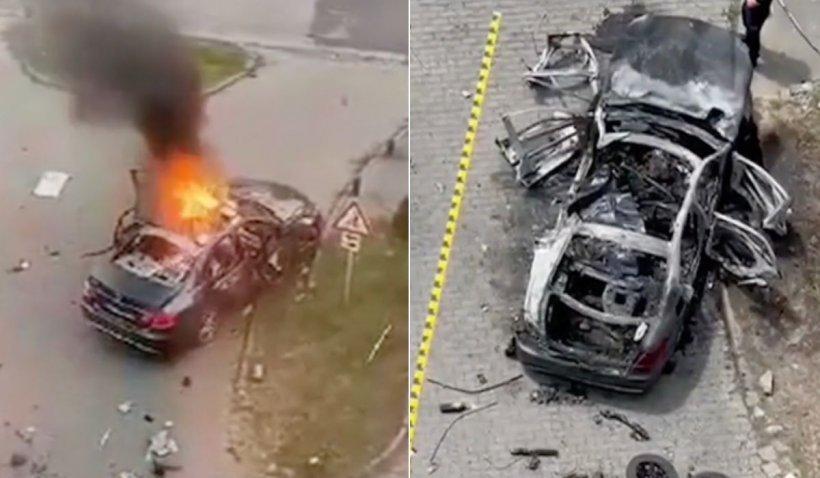 Surse: Bomba din maşina lui Ioan Crişan ar fi fost montată în autoturism la locul exploziei