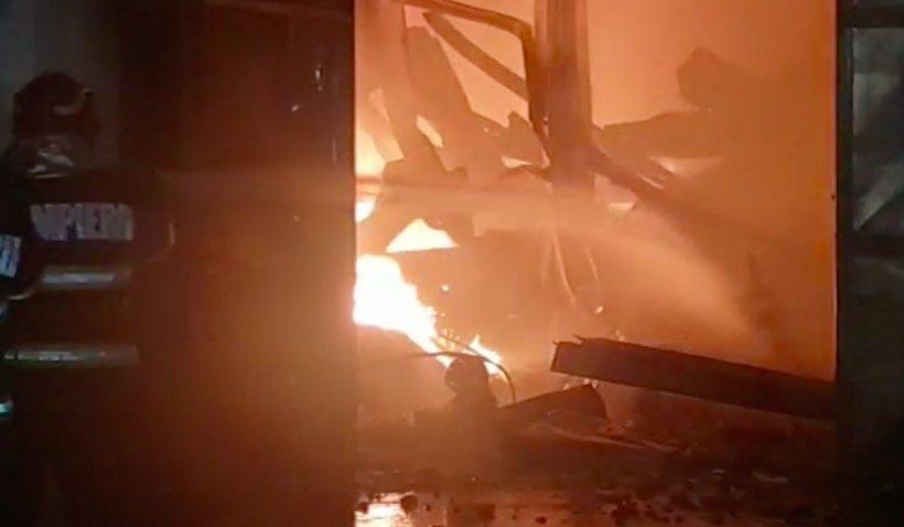 """Focul de la Brazi ar fi fost pus intenționat: """"Este al treilea incendiu produs de mâini criminale!"""""""