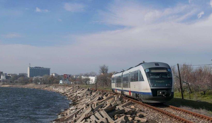 """CFR introduce 40 de trenuri suplimentare către Marea Neagră și Delta Dunării, prin programul """"Trenurile Soarelui 2021"""""""