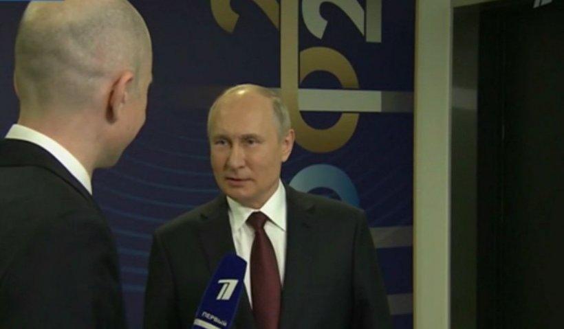 """Putin, după atacurile cibernetice din SUA: """"E ridicol să ne acuzi că extorcăm bani de la producători de carne de pui sau vită"""""""