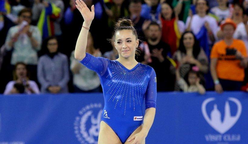 Larisa Iordache a câştigat medalia de aur la bârnă, la Campionatul Mondial de Gimnastică din Cairo