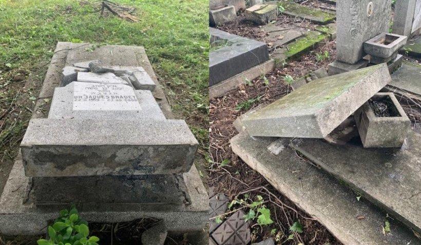"""Radu Tudor, după ce cimitirul evreiesc din Ploieşti a fost vandalizat: """"Sper ca Iohannis, Cîţu şi Bode să înţeleagă dimensiune acestui act abominabil"""""""