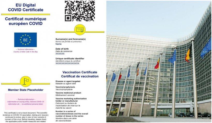Certificatul COVID, disponibil din 1 iulie. Cum funcţionează documentul