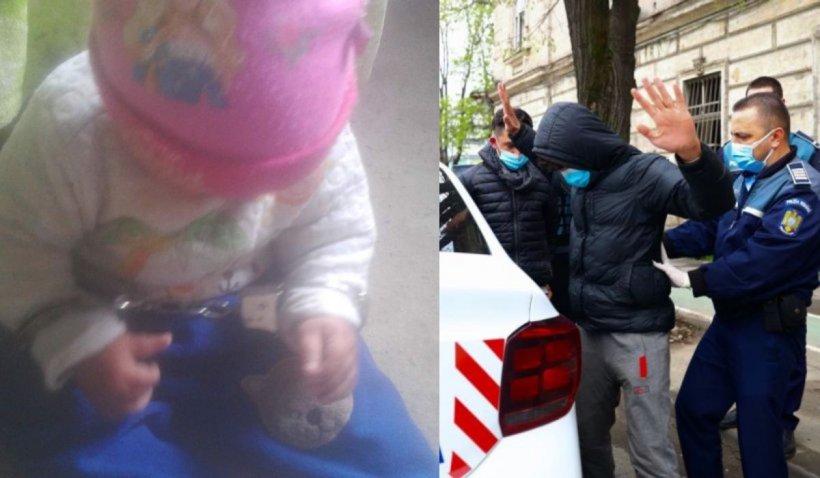 Imagini cu un bebeluș încătușat, găsite de anchetatori pe pagina de Facebook a bărbatului din Vrancea care și-a omorât concubina însărcinată