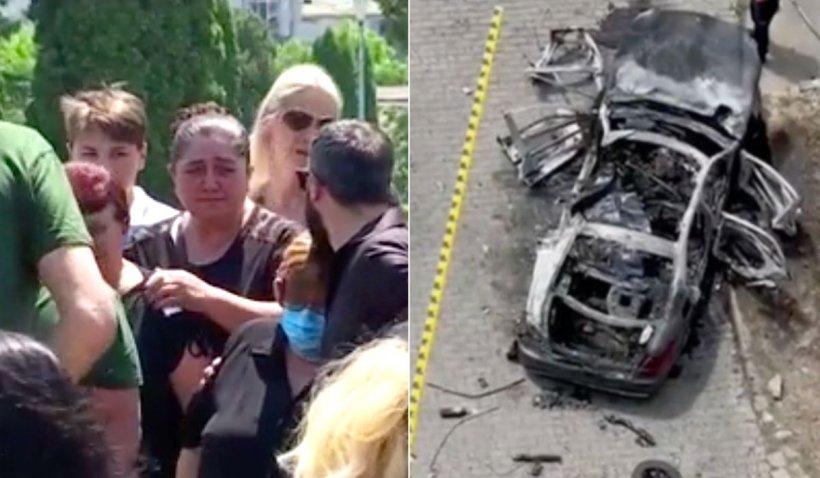 Afaceristul asasinat cu bombă la Arad este înmormântat astăzi. Soția a angajat o firmă de pază pentru ca amanta să nu participe