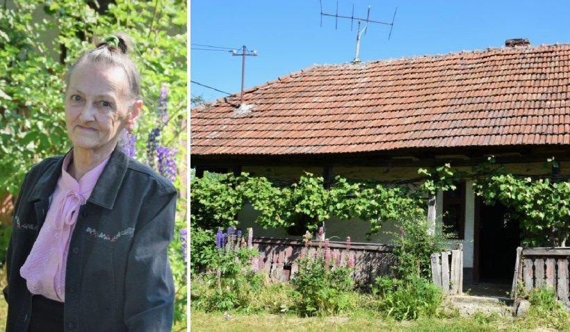 """Cum a reuşit o femeie de 76 de ani din Satu Mare, bolnavă şi fără un loc de muncă să îşi cumpere o casă: """"Am reușit pentru că am avut un obiectiv"""""""