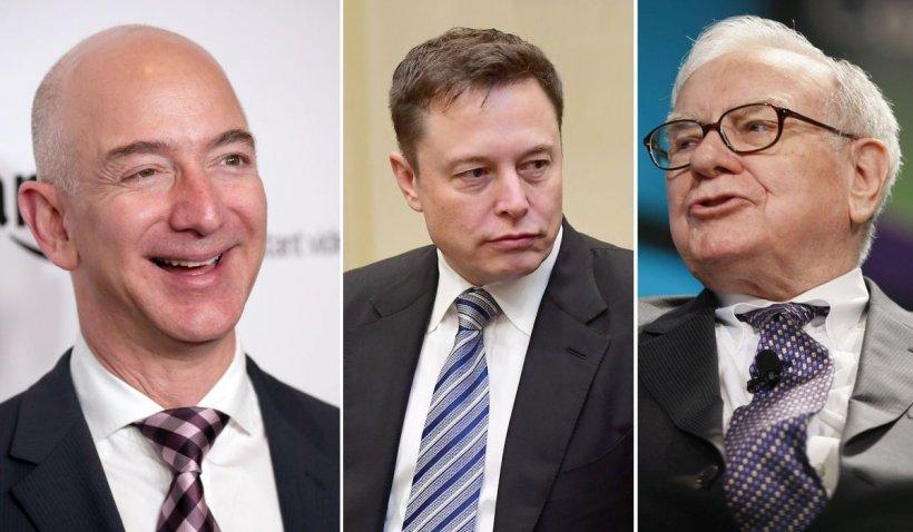 """FBI, Trezoreria SUA și procurorii federali, pe urmele """"cârtiței"""" care a dezvăluit că miliardarii Jeff Bezos, Elon Musk și Warren Buffet au plătit aproape zero taxe"""