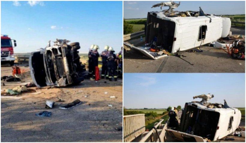 Șoferul de TIR care a provocat accidentul din Ungaria, la un pas de arest. Trei persoane au murit în urma impactului