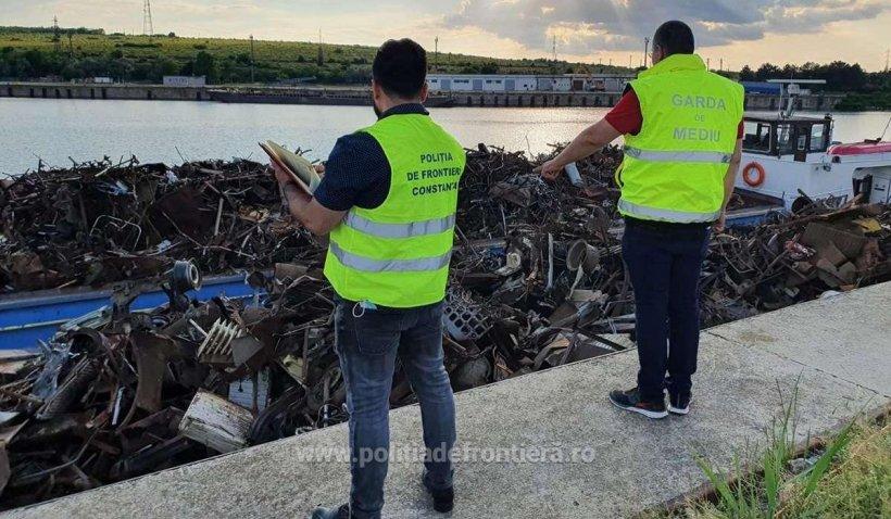 Peste 1000 de tone de deșeuri neconforme venite din Bulgaria au fost descoperite în Portul Murfatlar