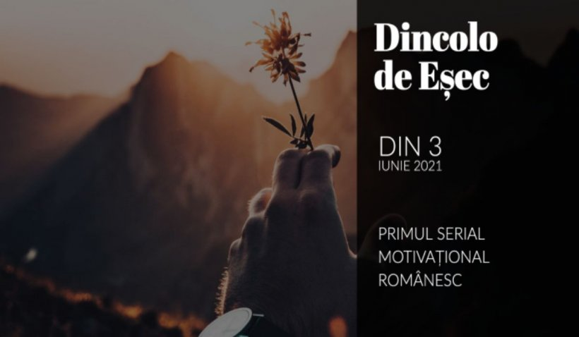"BiziLIVE TV a lansat primul serial motivațional românesc denumit ""Dincolo de Eșec"""