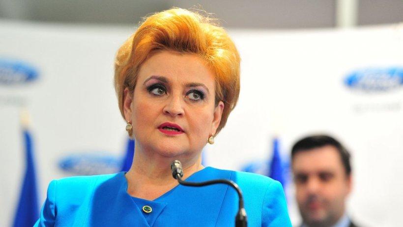 """Grațiela Gavrilescu: """"Guvernul obedient fură pensiile românilor"""""""