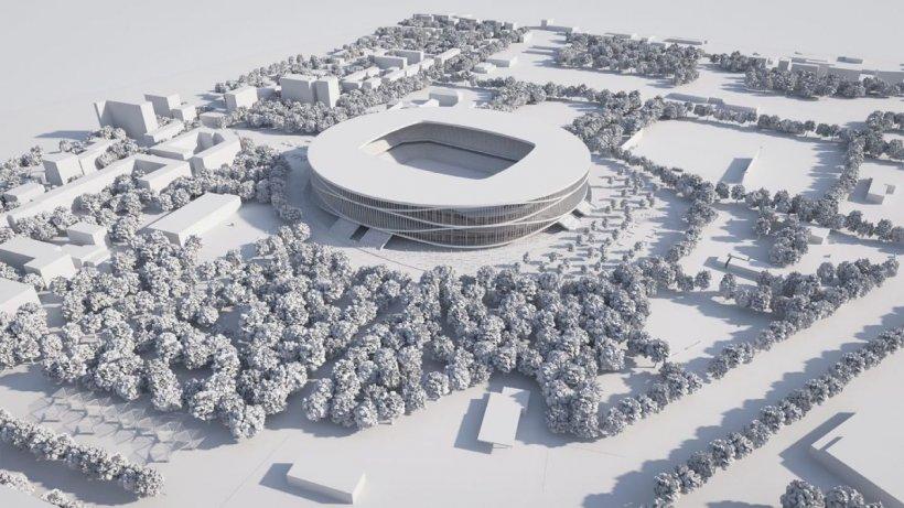 """Timișoara va avea un nou stadion. Noua arenă """"Dan Păltinișanu"""" va avea 30.000 de locuri și costă 122 de milioane de euro"""