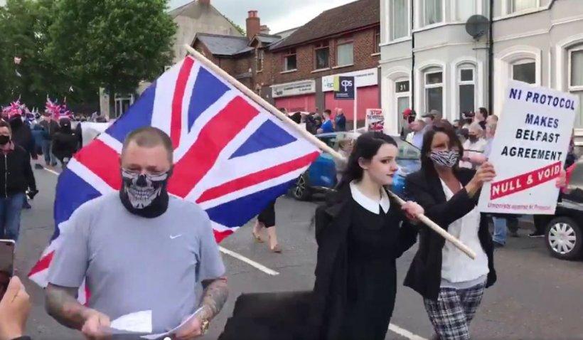 Summit-ul G7, umbrit de proteste în Irlanda de Nord împtriva protocolului post-Brexit