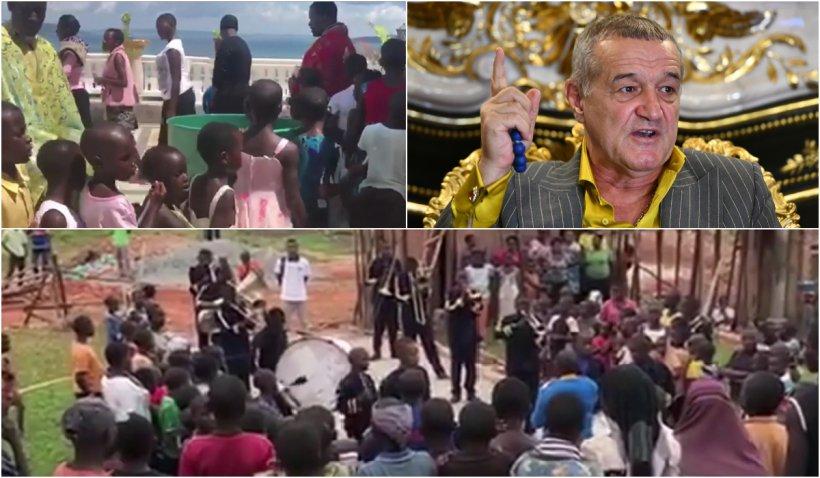 """Africanii stau la coadă să se boteze în bisericile construite de Gigi Becali: """"Sunt mai buni decât noi pentru că au chin mai mare"""""""