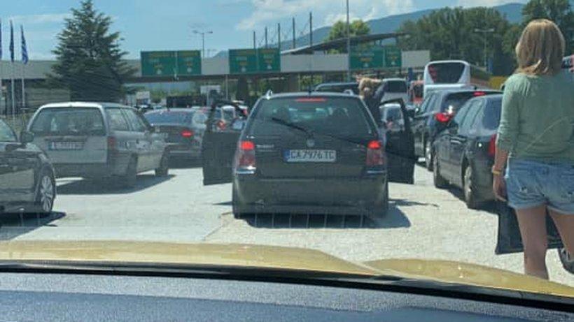 MAE, precizări după cozile mari la intrarea în Grecia: Formularul PLF se completează cu 24 de ore înainte!