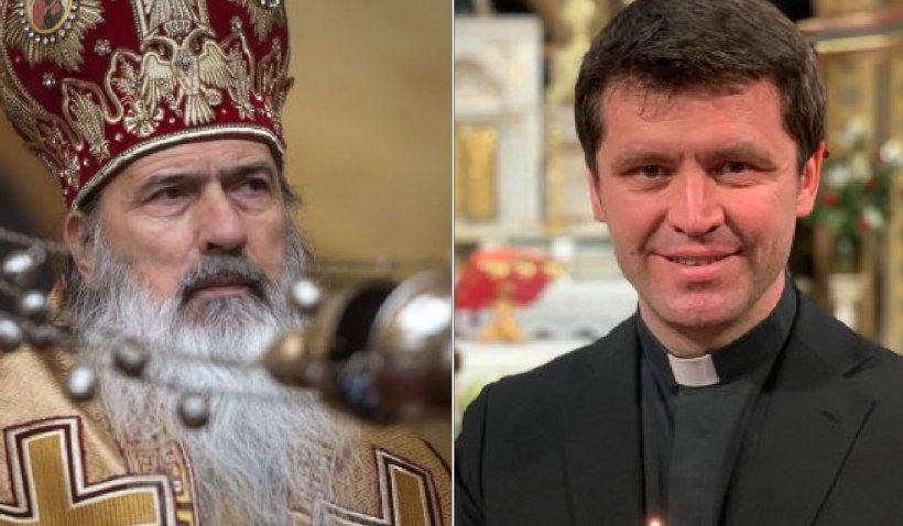 """Derapaj ÎPS Teodosie: """"La noi lumina vine, la catolici nu vine"""". Pr. Doboș: """"Nu ai cum să nu-l iubești"""""""
