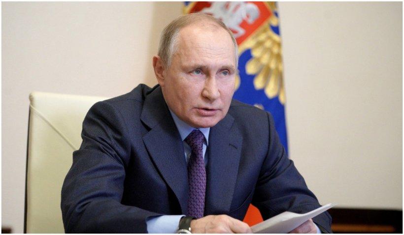 """Putin, îngijorat de o eventuală aderare a Ucrainei la NATO: """"50% dintre ucraineni nu vor să fie în prima linie, monedă de schimb şi carne de tun"""""""