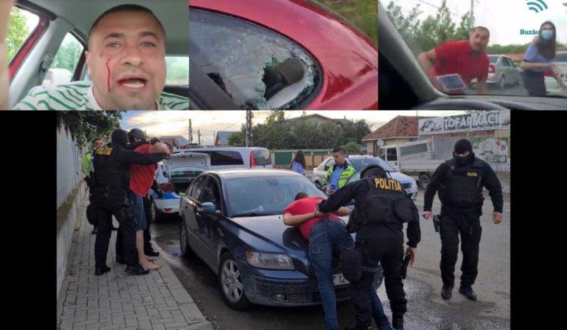 Activist civic buzoian, bătut crunt în fața polițiștilor, în timp ce striga disperat după ajutor