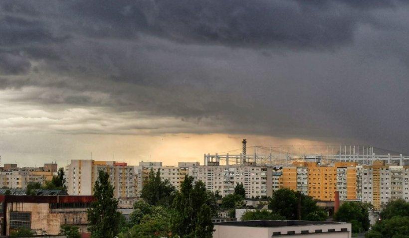 Avertizare nowcasting: Cod roşu de vreme extremă în Ilfov, Prahova şi Dâmboviţa