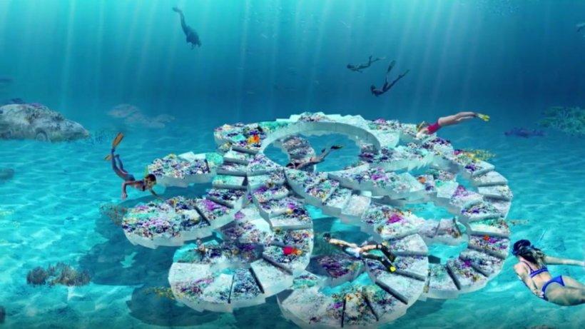 Un parc spectaculos de sculptură subacvatică se va deschide la Miami