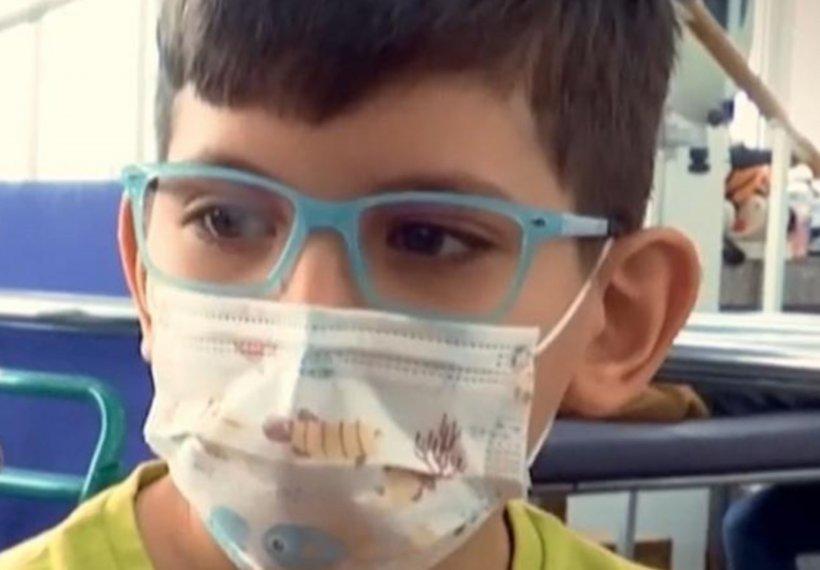 Povestea sfâșietoare a lui Artur, un copil de de 11 ani cu paralizie cerebrală