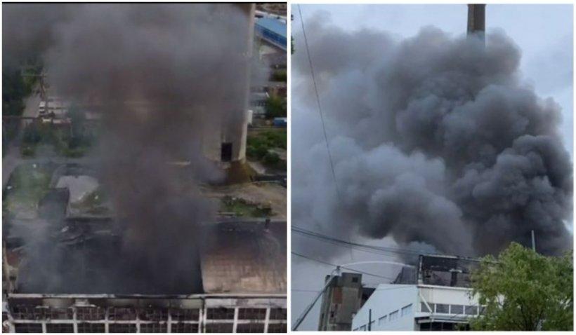Un nou incendiu a izbucnit în interiorul incineratorului de deșeuri de la Brazi