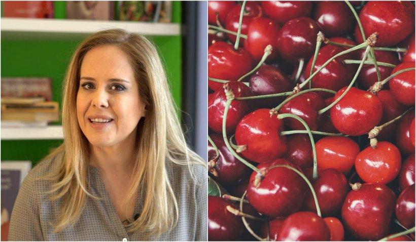 """Mihaela Bilic avertizează: """"Cireșele îngrașă teribil!""""- Fructele care sunt bombă calorică"""