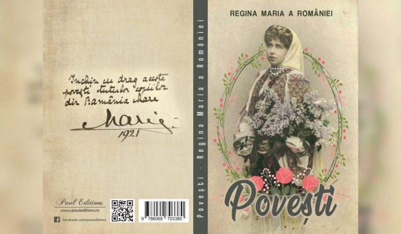 Poveștile Reginei Maria, o carte plină de învăţăminte pentru cei mici, oferită de Jurnalul