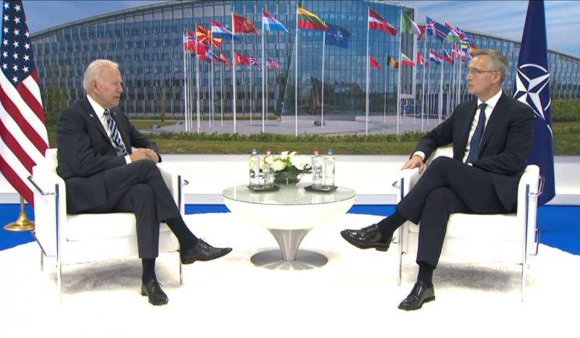 """Summit NATO. Membrii Alianței ar putea invoca articolul 5 în caz de atac cibernetic. Joe Biden: """"Articolul 5 e sfânt!"""""""